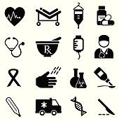 Health and medical icons
