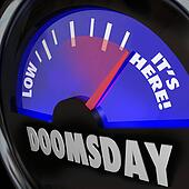 Doomsday Clock Gauge It's Here End of Days Time