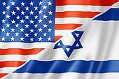 USA and Israel flag