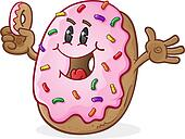 Donut Character
