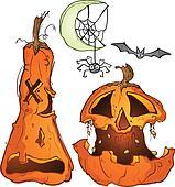 Pumpkin Cartoon Chracters