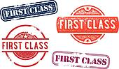 First Class Rubber Stamp Imprints