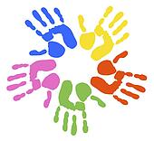 Handprints Stock Photos - GoGraph