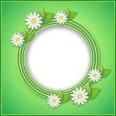 Spring or summer background with decorative flower