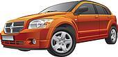 American compact car