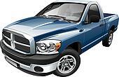 American full-size pickup