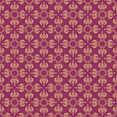 Rouge and Beige Colors Flower and Plant Pattern Design. Korean t