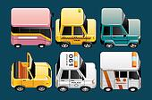 Vehicles  icons