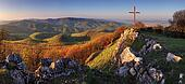 Panorama landscape at sunset - Slovakia Mountain