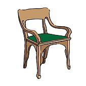 jugendstil chair