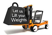 let us lift your weights