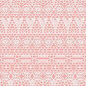 Lace seamless crochet pattern