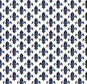 fleur-de-lis seamless pattern