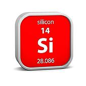 Silicon material sign