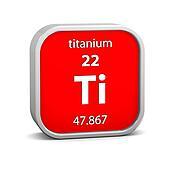 Titanium material sign