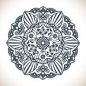Mandala Round Ornament Pattern