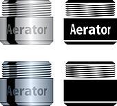 vector water saving aerator