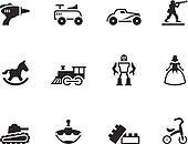 BW Icons Icons - Toys