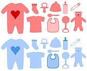 Girls and Boys baby Items
