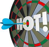 Hot Dart Popular Great Performance Dartboard