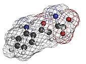 Kynurenine tryptophan metabolite, molecular model