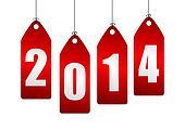 2014 new year illustration