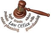 Gavel estate probate wills attorney words