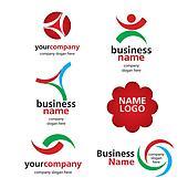 collection of vector logos spektorny