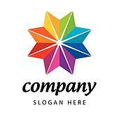 logo spectral flower star
