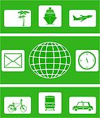 isolated icon for travel