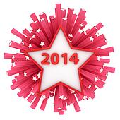 Star 2014 firework