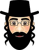 Vector illustration of orthodox
