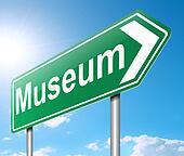 Museum sign.