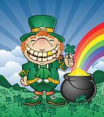 Leprechaun Cartoon Character