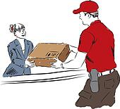 delivery service professional work