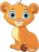 Lion king cub