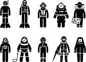 Protective Suit Gear Uniform Wear