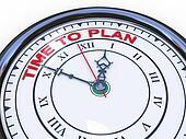3d clock - time to plan