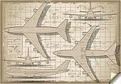 Plane Project in Five Orthogonal Views