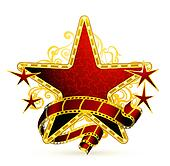 Movie Star Clip Art - Royalty Free - GoGraph