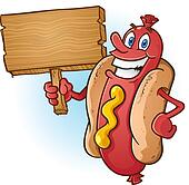 Hot Dogs Clip Art - Royalty Free - GoGraph