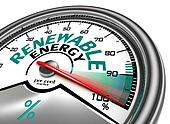 renewable energy conceptual meter
