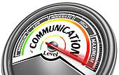 communication level meter