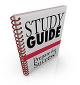 Study Guide Book Cover Preparing for Exam