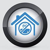 House protection concept icon