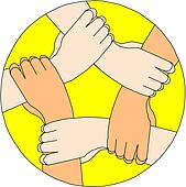 holding hands circle clip art royalty free gograph Scales of Justice Drawing Gavel Clip Art