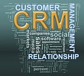 crm customer relationship managment wordcloud