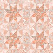 Quilt seamless pattern background star shape