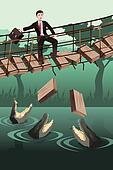 Business risk concept