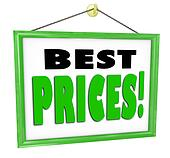 Best Prices Business Sign Hanging Store Window Shop